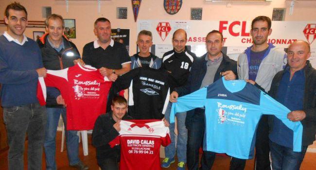 Roussaly, partenaire des associations sportives de rugby et de foot de Lacaune.