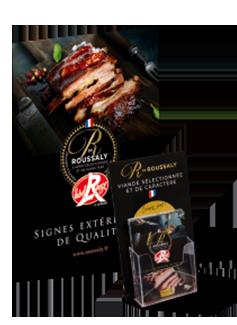 Découvrez la qualité du porc Label Rouge de la viande en gros Roussaly à Lacaune dans le Tarn