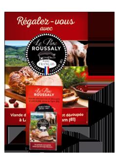Découvrez le label de qualité Le Porc Roussaly, viande en gros dans le Tarn